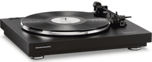 1. Marantz TT42P Fully Automatic Belt Drive Turntable with On-Board Phono EQ