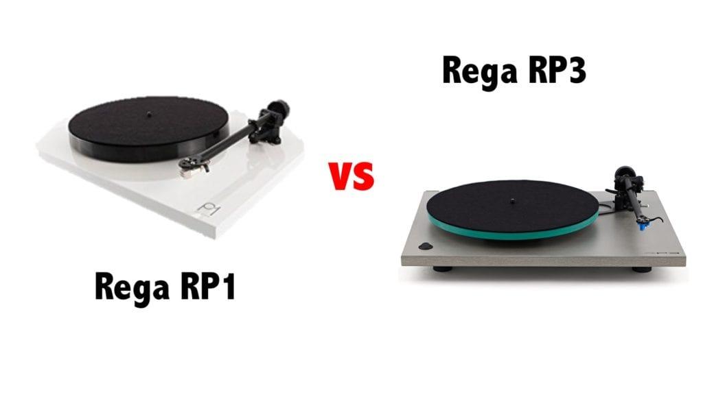rega rp1 or rega rp3