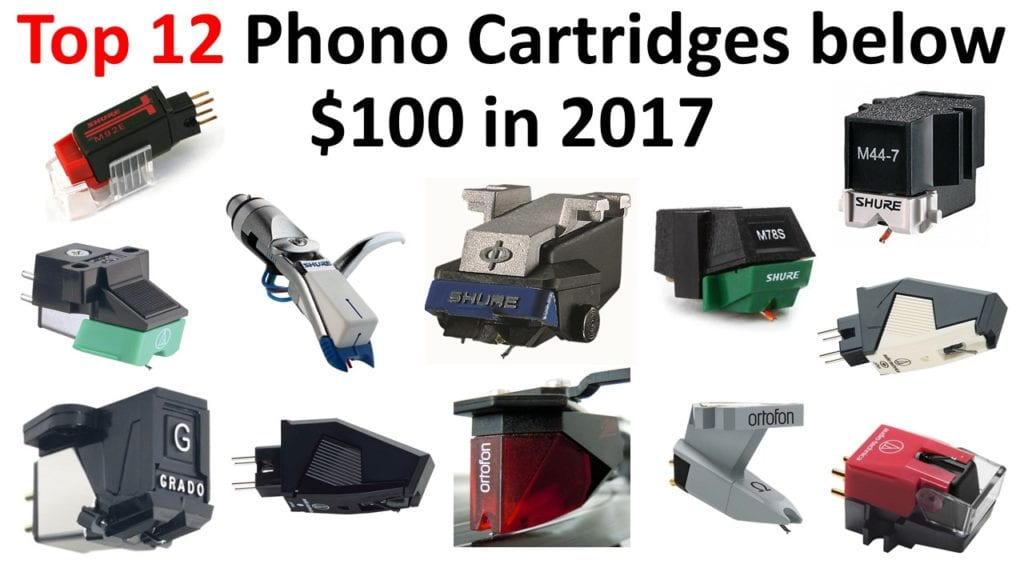 Top 12 phono cartridges