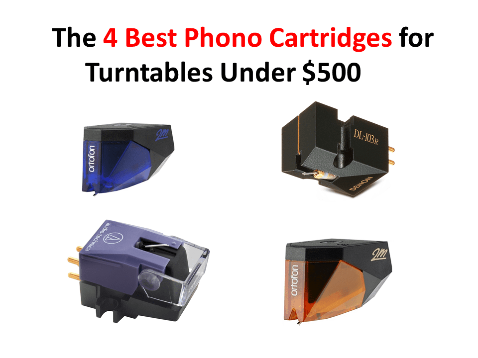 The 4 Best Phono Cartridges For Turntables Under 500 In