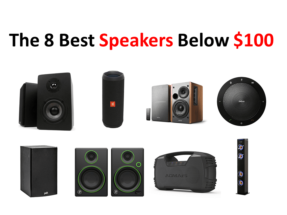 The 8 Best Speakers Below $100