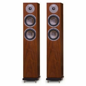 KLH Cambridge Floorstanding Loudspeakers - Pair (Walnut)