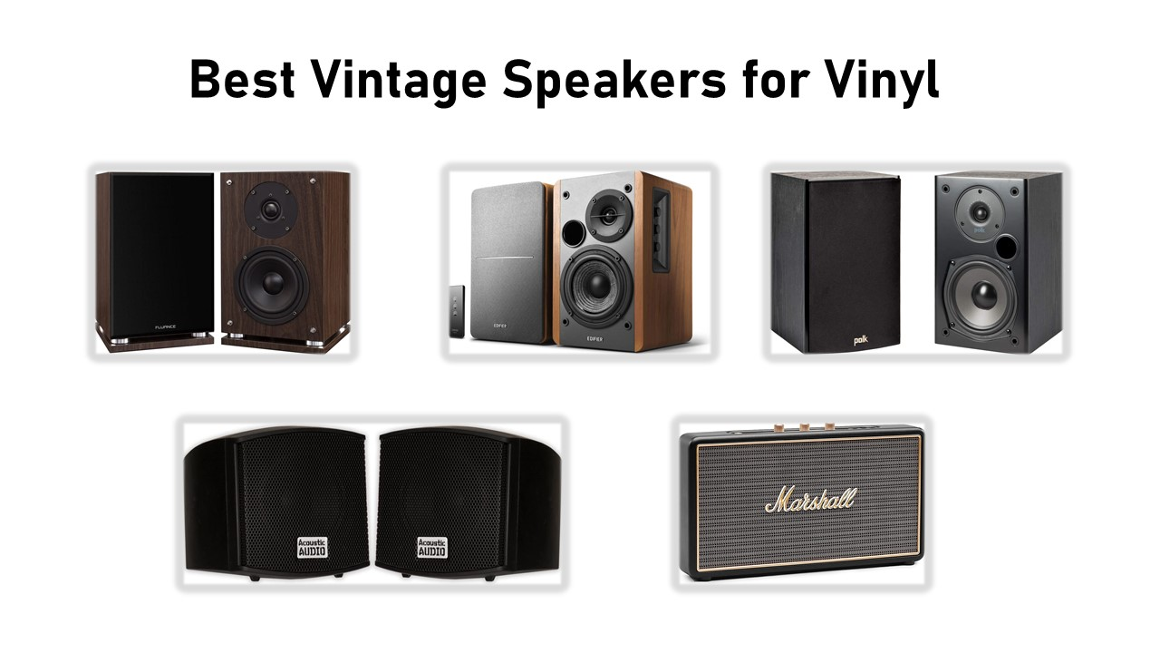 5 Best Vintage Speakers for Vinyl review