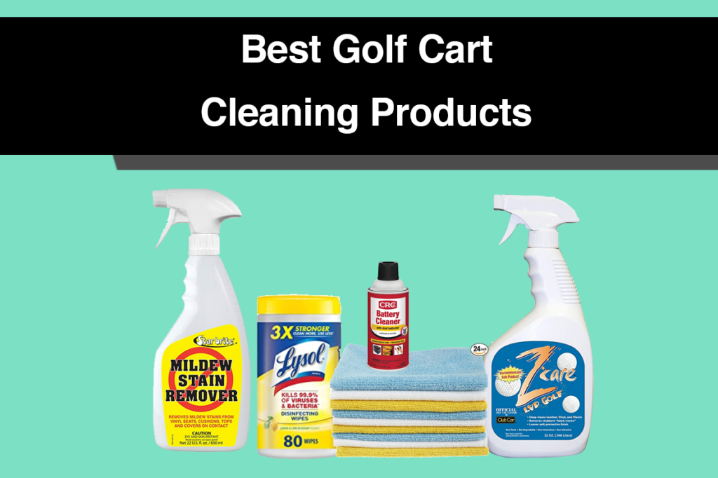 Best Golf Cart Cleaning Products