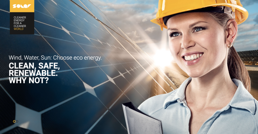 Solar – Renewable Energy and Eco Friendly Technologies Single and Multipage WordPress Theme