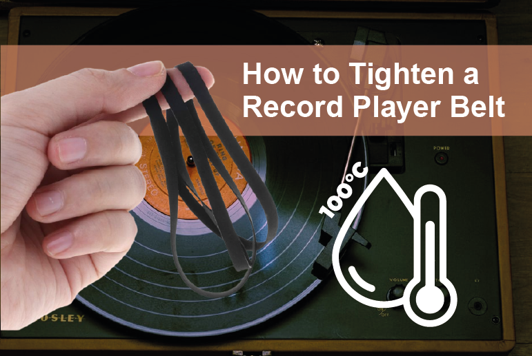 How to Tighten a Record Player Belt